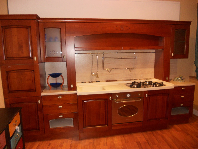 cucina scic legno ciliegio - Cucine a prezzi scontati