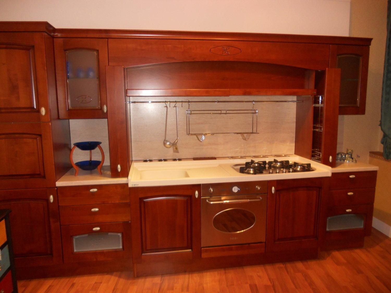 Cucina scic legno ciliegio cucine a prezzi scontati for Cucina moderna in ciliegio