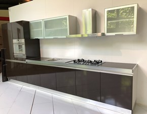 Cucina Scic moderna lineare altri colori in laminato lucido Montecarlo