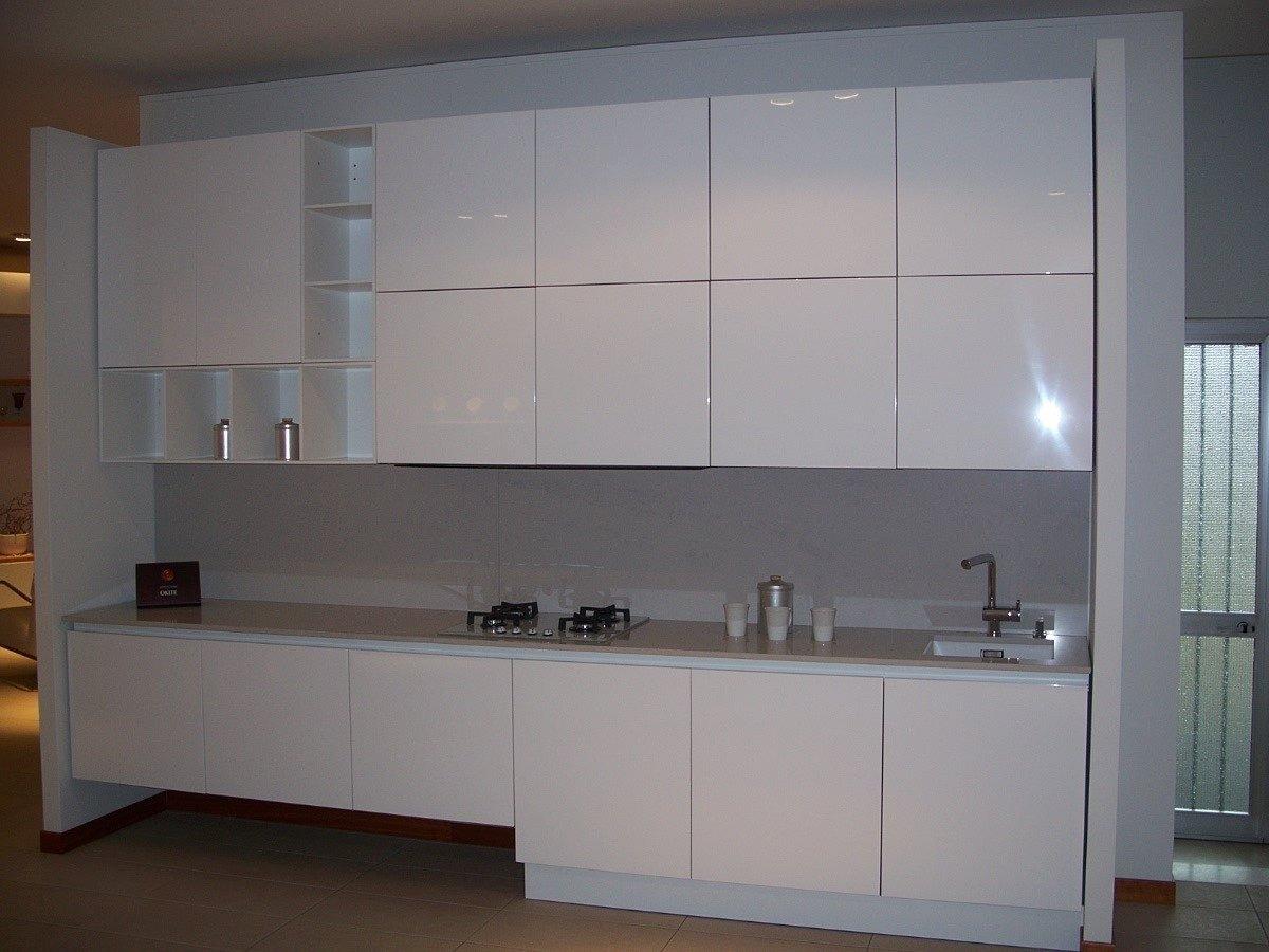 Cucina Arka Laccato Lucido Cm 360 Altezza Cm 267 #69594C 1200 900 Top Cucina Corian O Okite