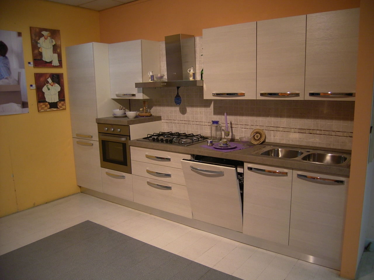 Cucina scontata mobilturi cucine a prezzi scontati - Cucina componibile prezzi ...