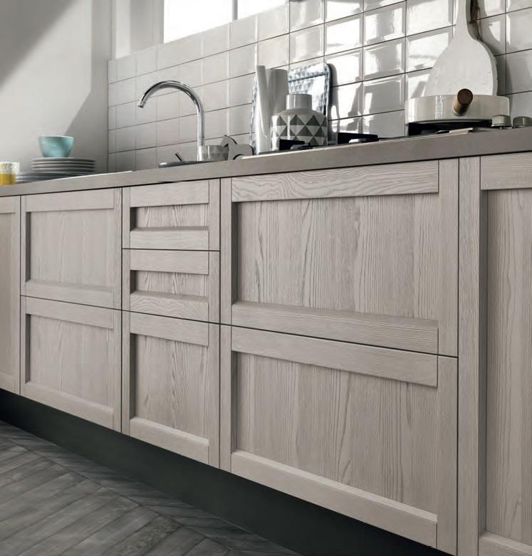 cucina shabby chic mina grigia e magnolia offerta come foto outlet nuovimondi - Cucine a prezzi ...