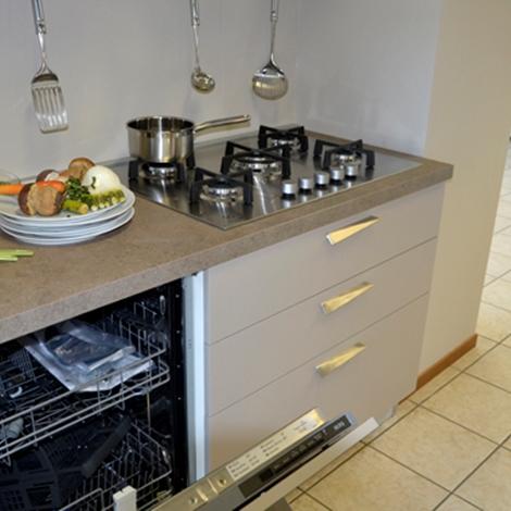 cucina lineare siloma modello one - cucine a prezzi scontati - Siloma Cucine