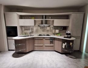 Cucina Sky line moderna grigio lineare Snaidero