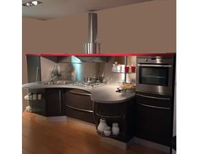 Cucina Skyline moderna rovere moro lineare Snaidero