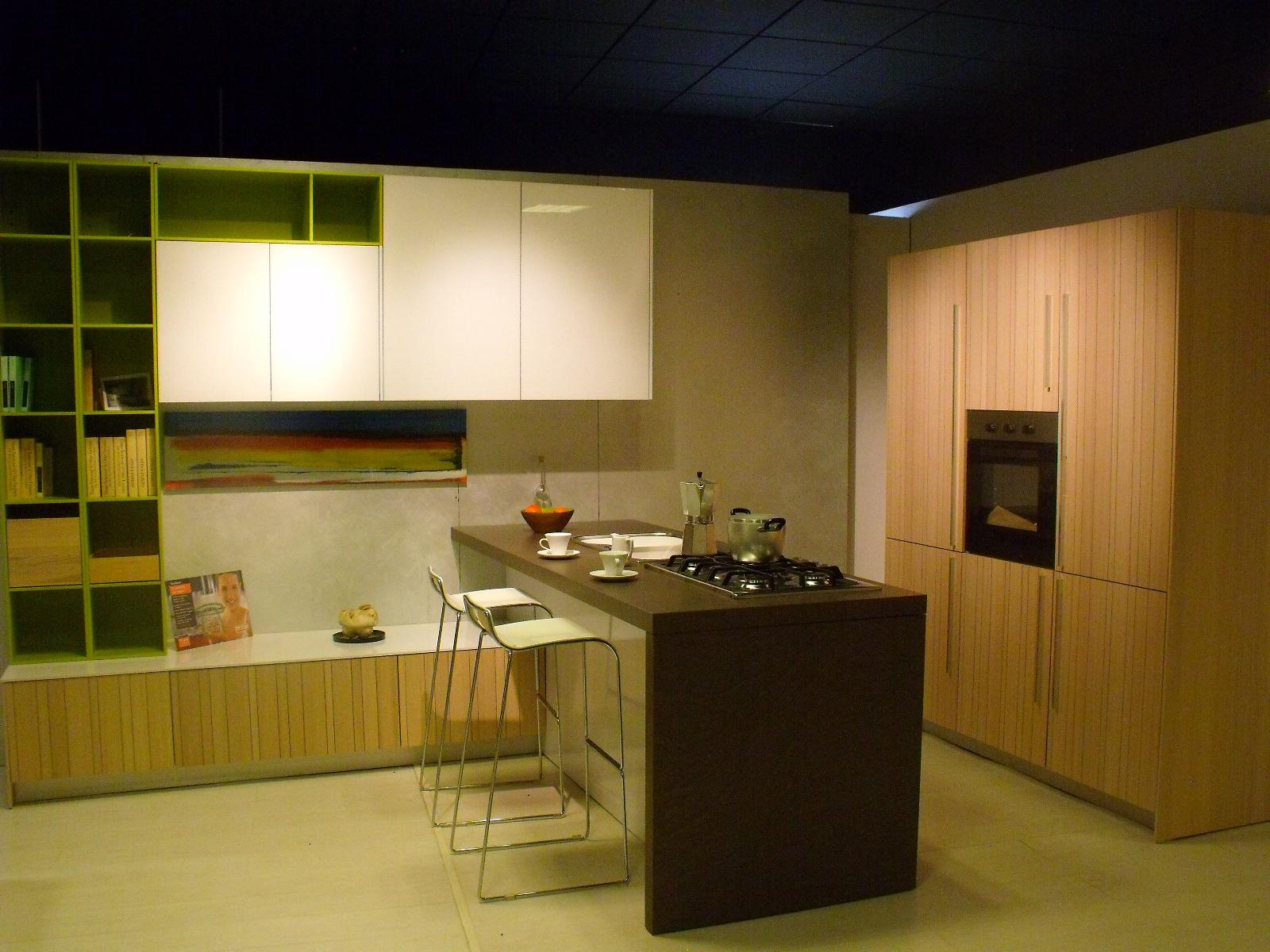 Isola cucina legno creativo - Outlet cucine snaidero ...