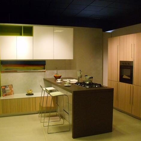 outlet Cucina Snaidero Code Moderne Legno