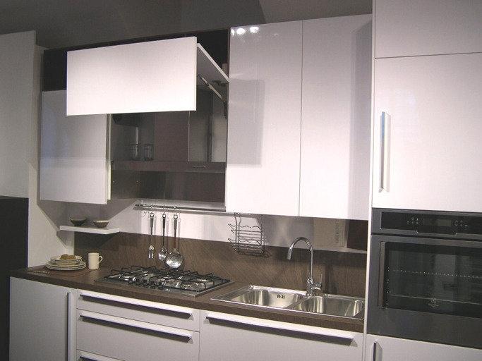 Cucina snaidero code moderna laminato lucido neutra cucine a prezzi scontati - Cucina code snaidero ...