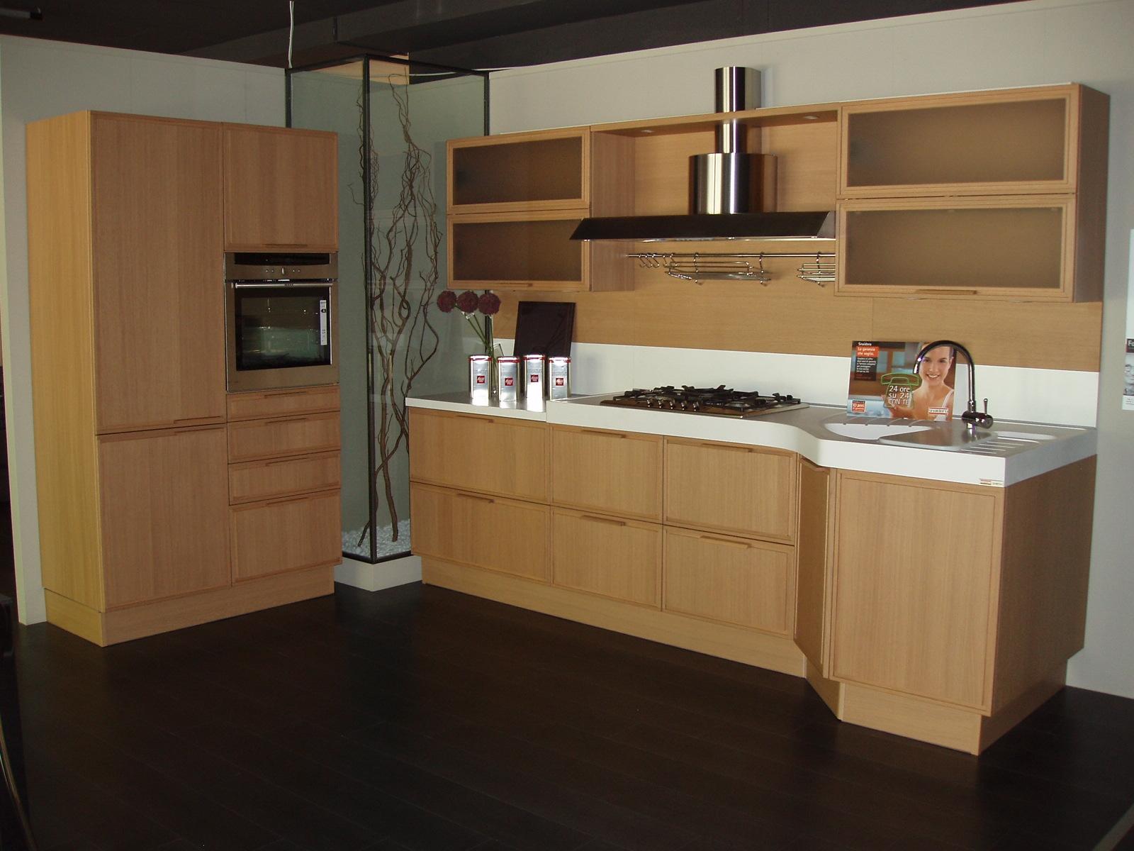 Cucina Snaidero Forma rovere light scontato del -60 % - Cucine a prezzi scontati
