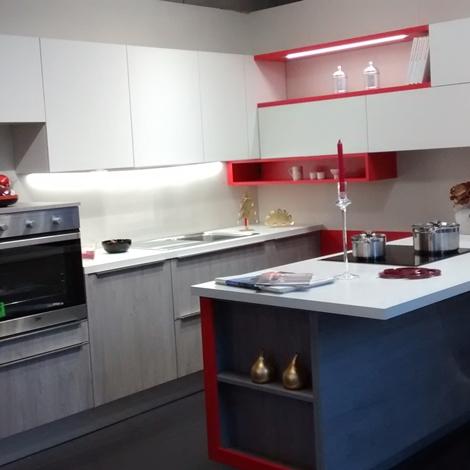 Cucina snaidero modello streep moderna laminato materico - Cucine snaidero outlet ...