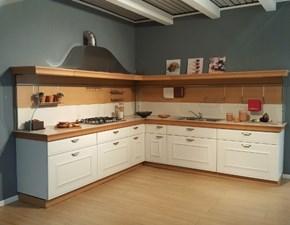 Cucina Snaidero moderna ad angolo bianca in laccato opaco Gioconda