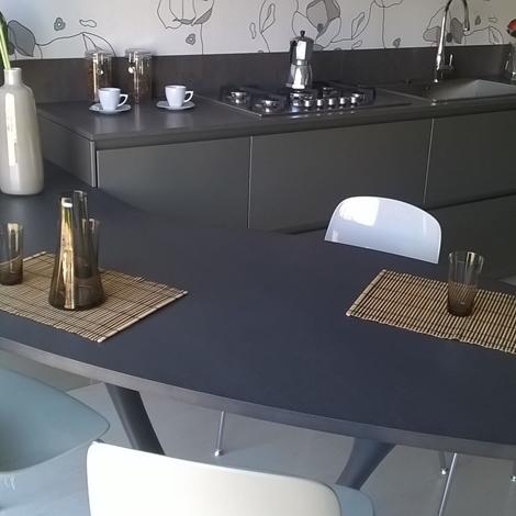 Cucina snaidero ola 20 design laccato opaco grigio - Cucina snaidero ola ...