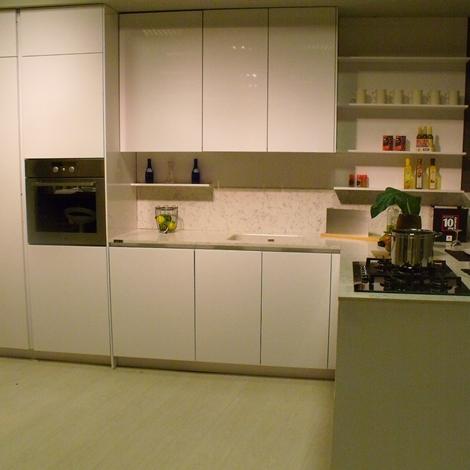 Cucina snaidero orange design laccato lucido bianca   cucine a ...
