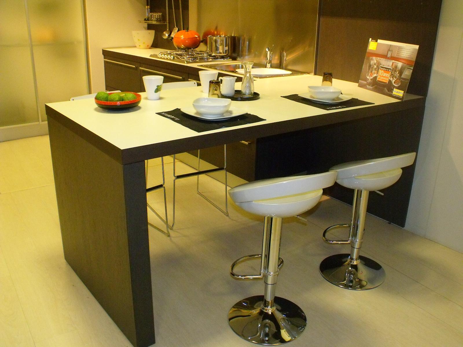 Cucina Snaidero Sistema zeta Moderna Legno - Cucine a prezzi scontati