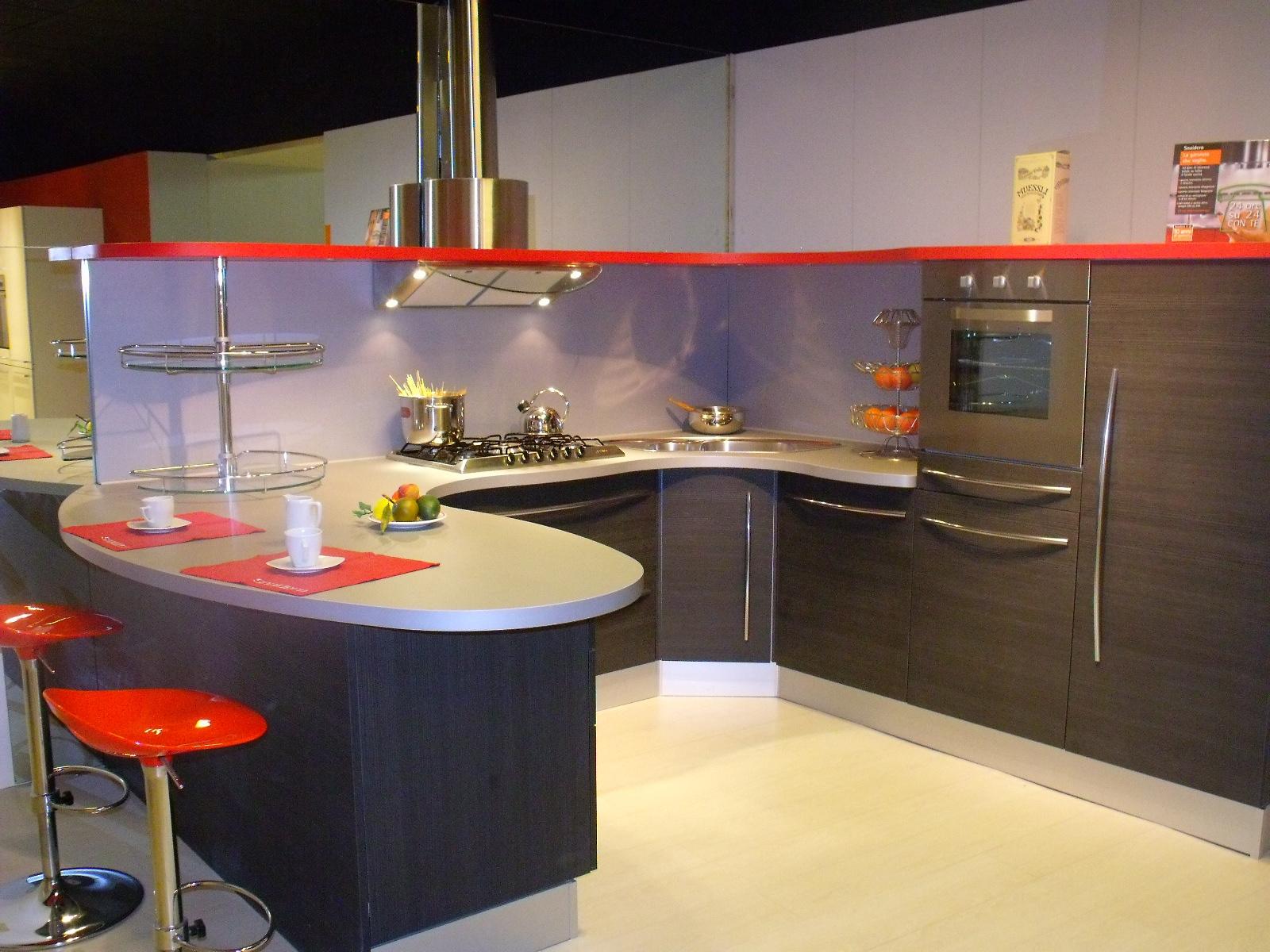 Snaidero Cucina Skyline Laminato Materico Cucine A Prezzi Scontati #B52816 1600 1200 Top Cucina In Laminato Opinioni