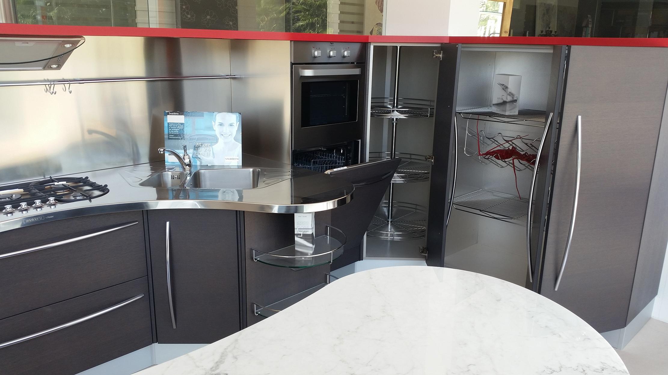 Snaidero cucina skyline scontato del 55 cucine a - Cucine faber prezzi ...