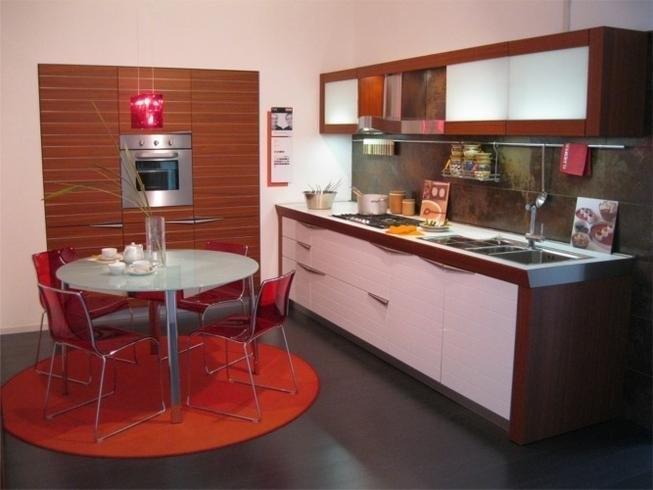 Cucina Snaidero Ola 20 Design Laccato Opaco Grigio - Outlet Cucine ...