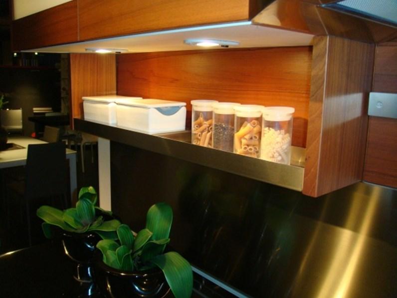 Cucina Snaidero Time teak scontato del -51 % - Cucine a prezzi ...