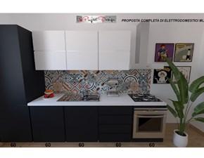 Cucina Sp22 moderna antracite lineare Astra cucine