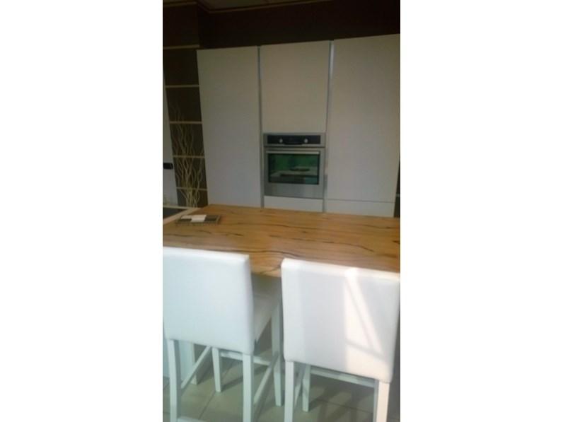 Cucina Spagnol cucine mobili vivere italia Moderno Laccate Opaco Bianca