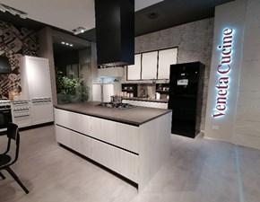 Cucina Start - 616 moderna rovere chiaro ad isola Veneta cucine