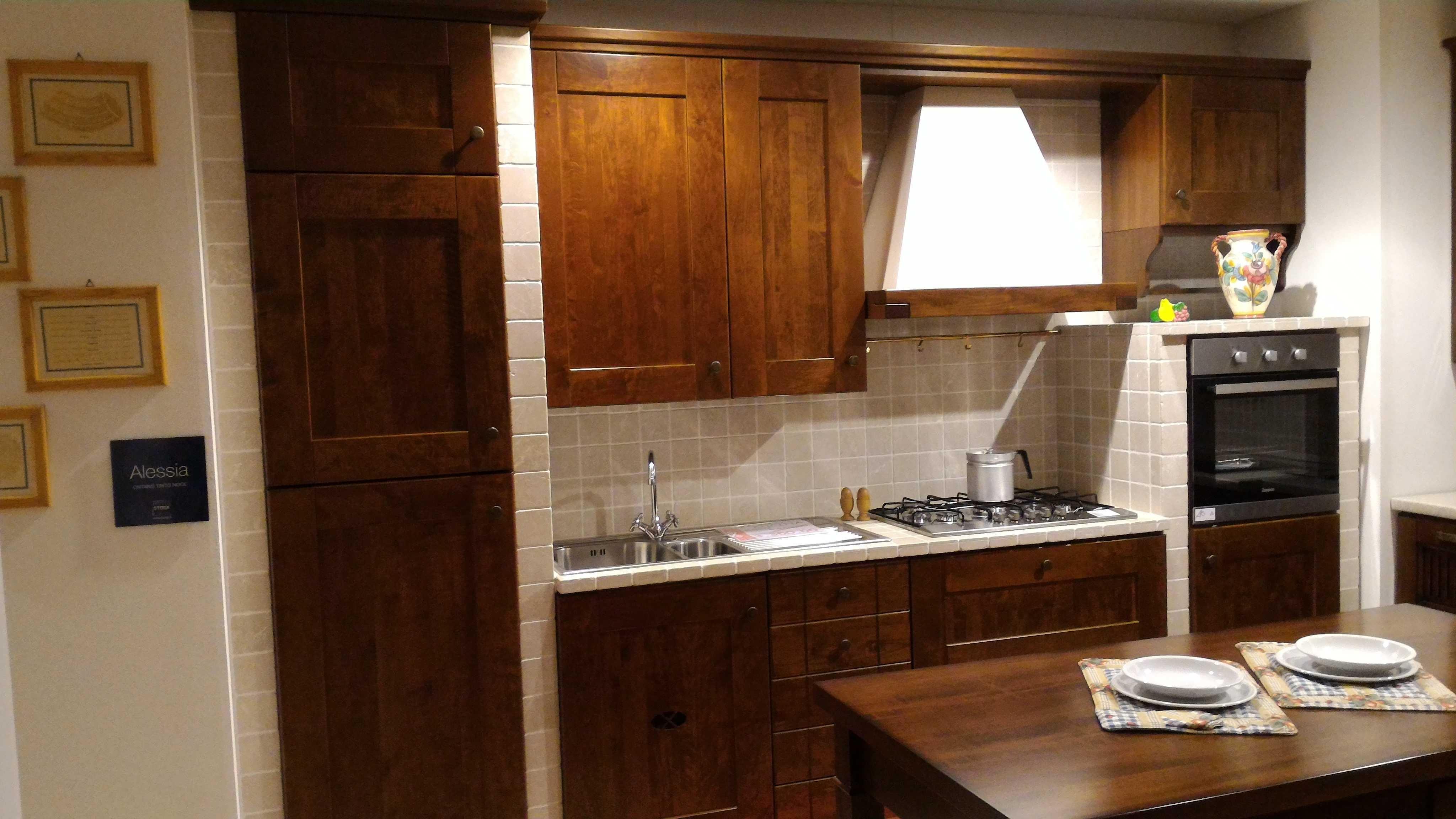 Cucina stosa alessia muratura prezzo offerta cucine a - Cucina di muratura ...