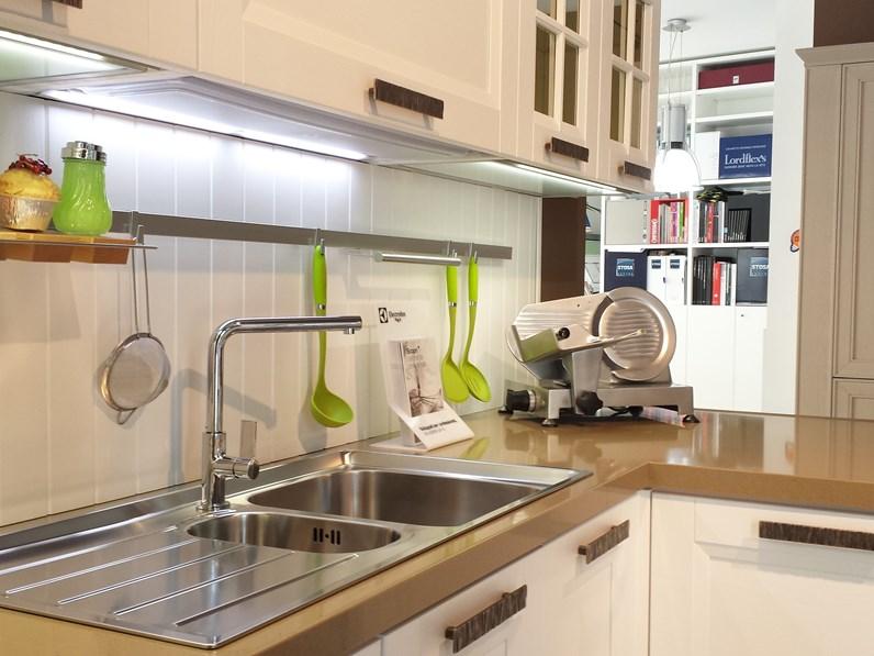 Stosa Cucine Cucina Beverly Classica Legno bianca