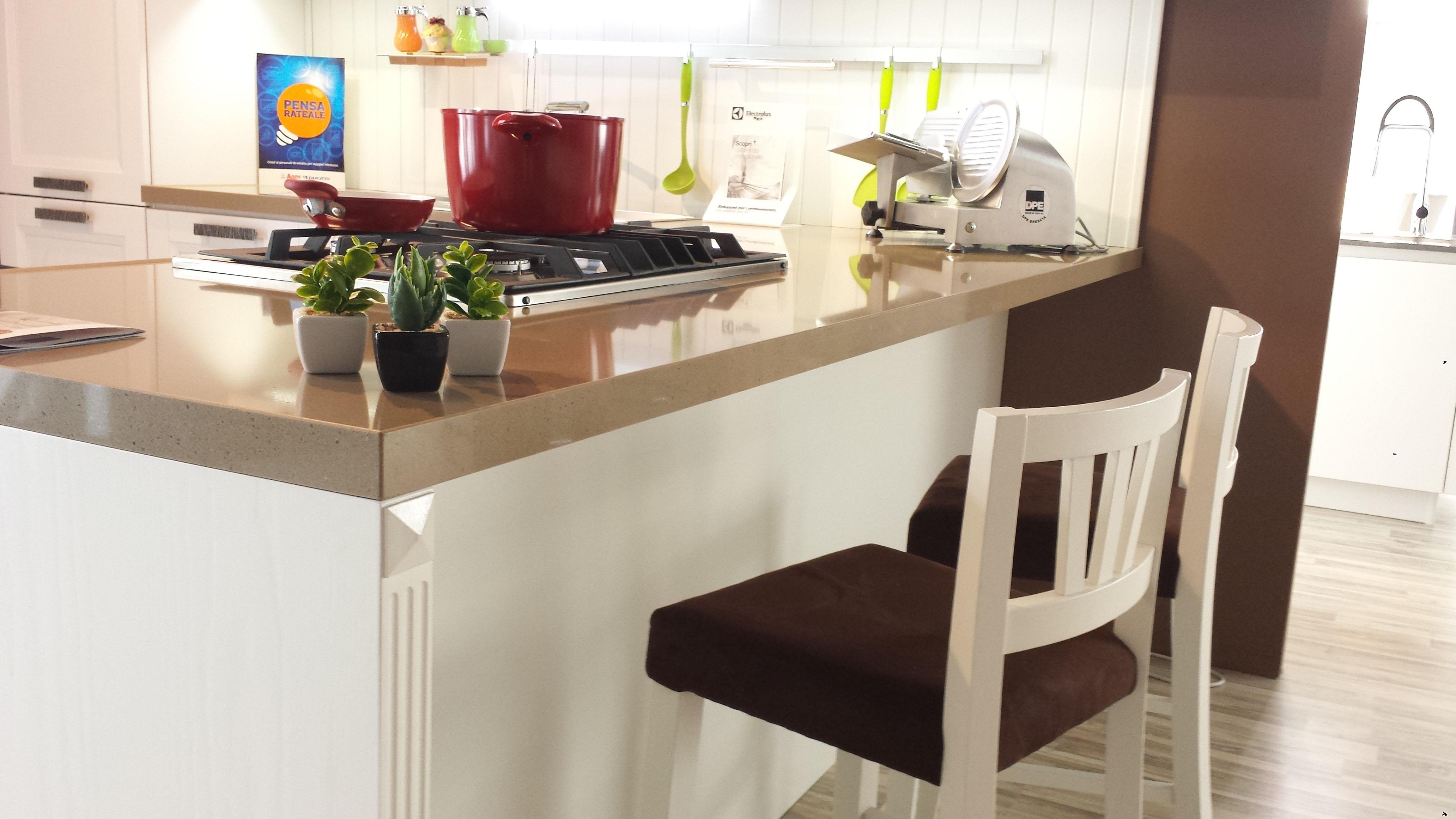 Stosa Cucine Cucina Beverly Classica Legno bianca - Cucine a ...