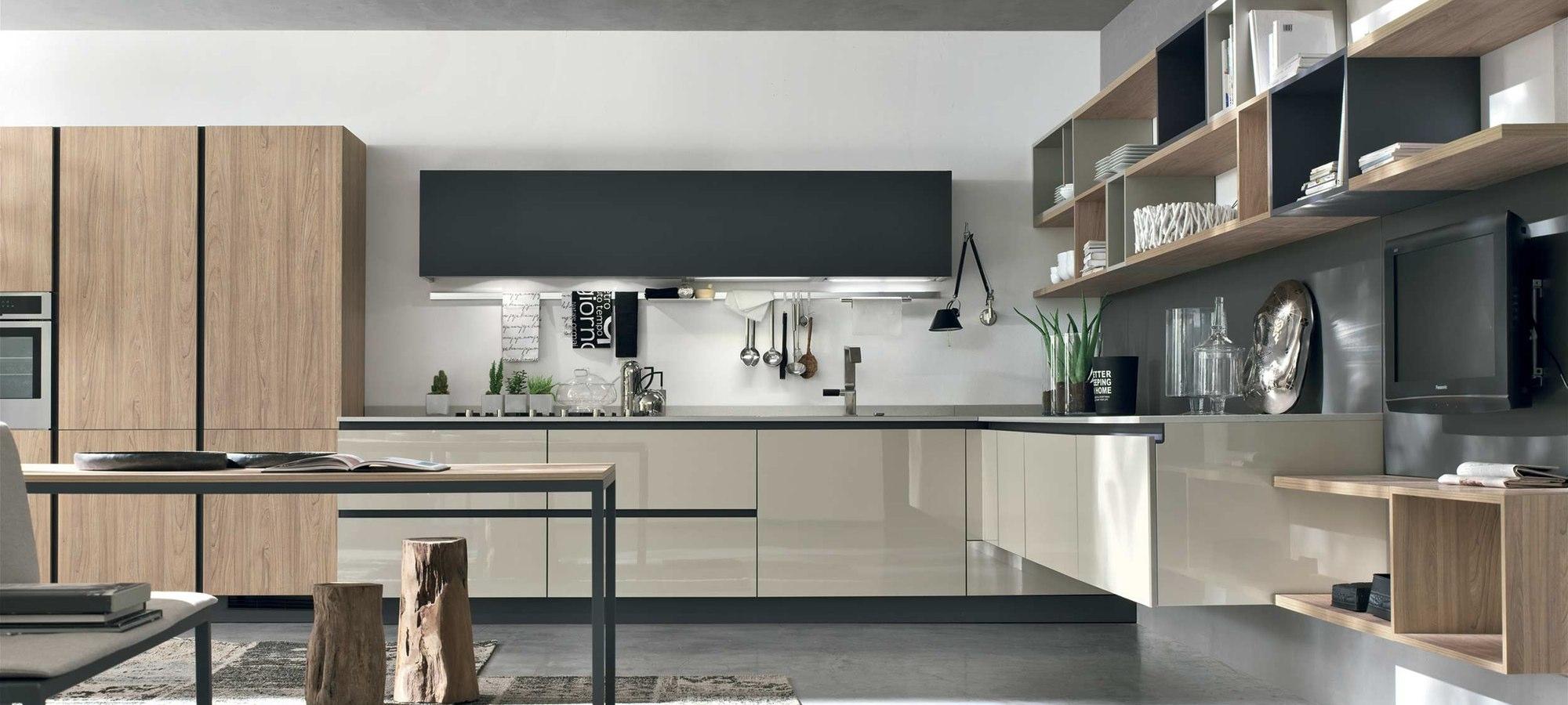 Cucina stosa cucine alev composizione lineare cucine a for Cucine stosa prezzi
