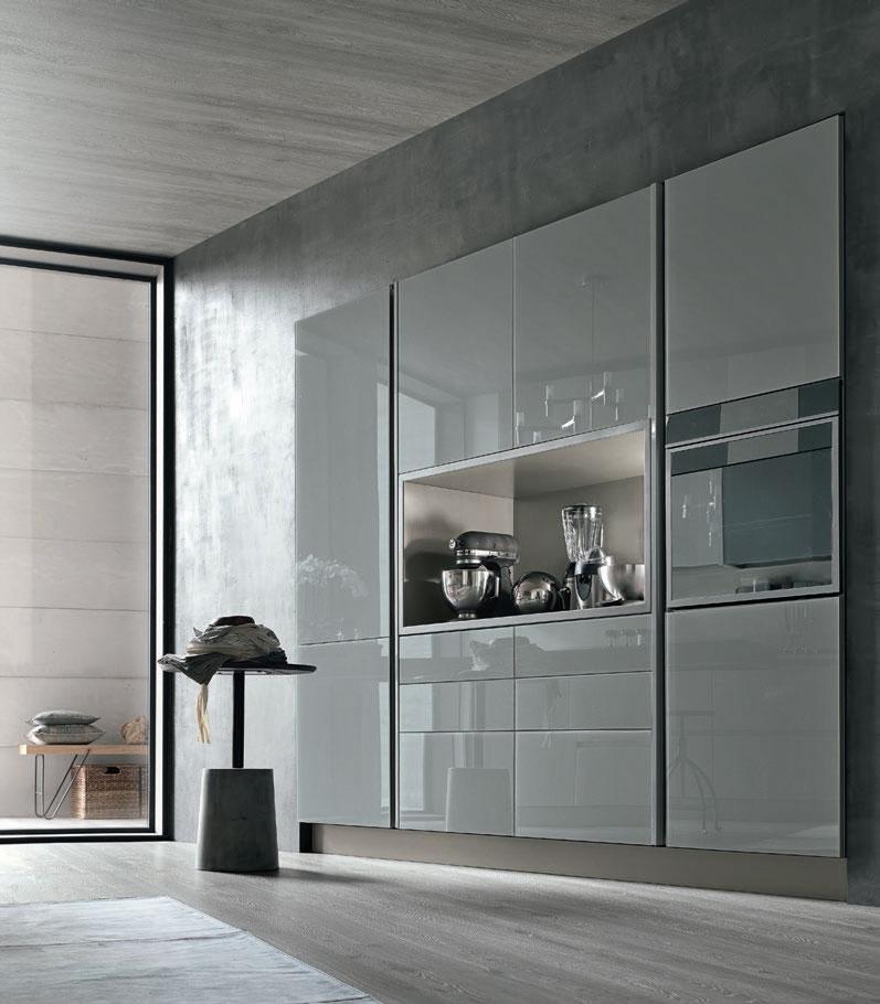 cucina Stosa Cucine Aliant vetro lucido - Cucine a prezzi scontati