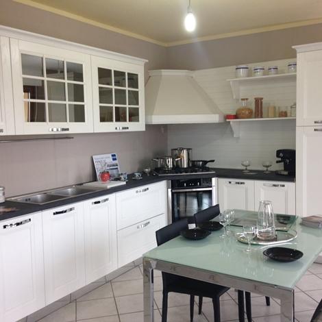 Cucina stosa cucine beverly classica legno bianca scontata - Cucina beverly stosa ...