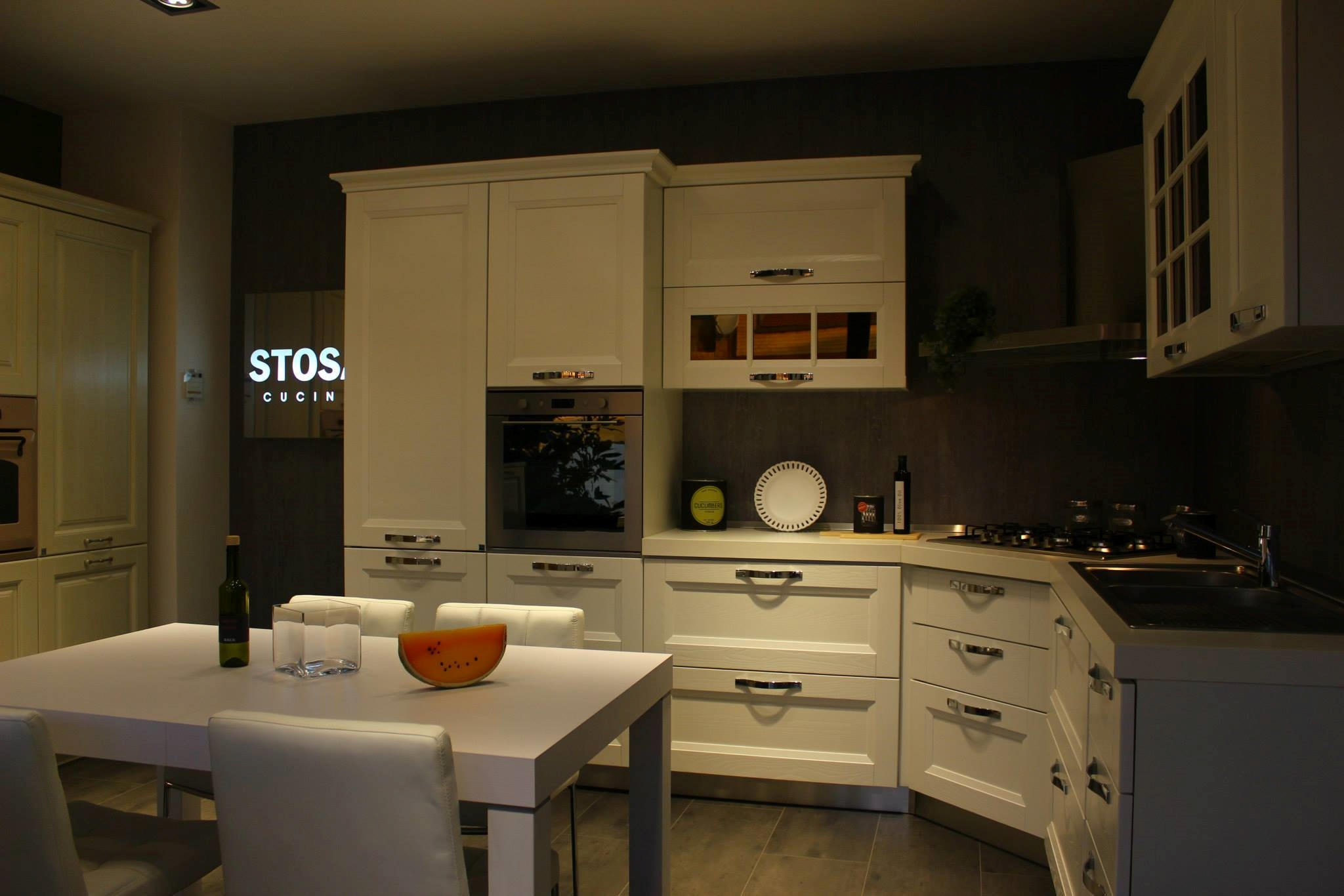 Cucina stosa beverly gallery of stosa bring laminato tranch perla milly ante grigio roccia - Cucina stosa beverly ...