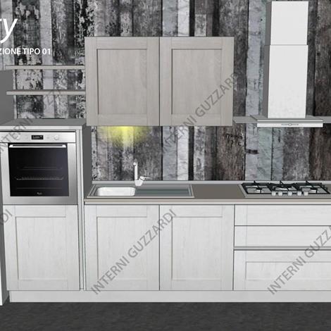 cucina Stosa Cucine City composizione tipo 01 - Cucine a ...