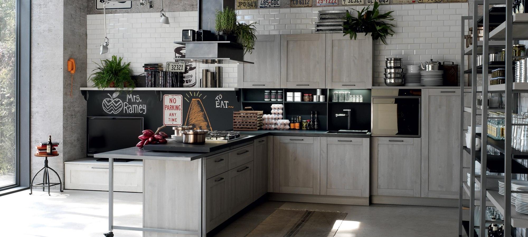 bild von composizioni cucine moderne artigianali linea bassano ...