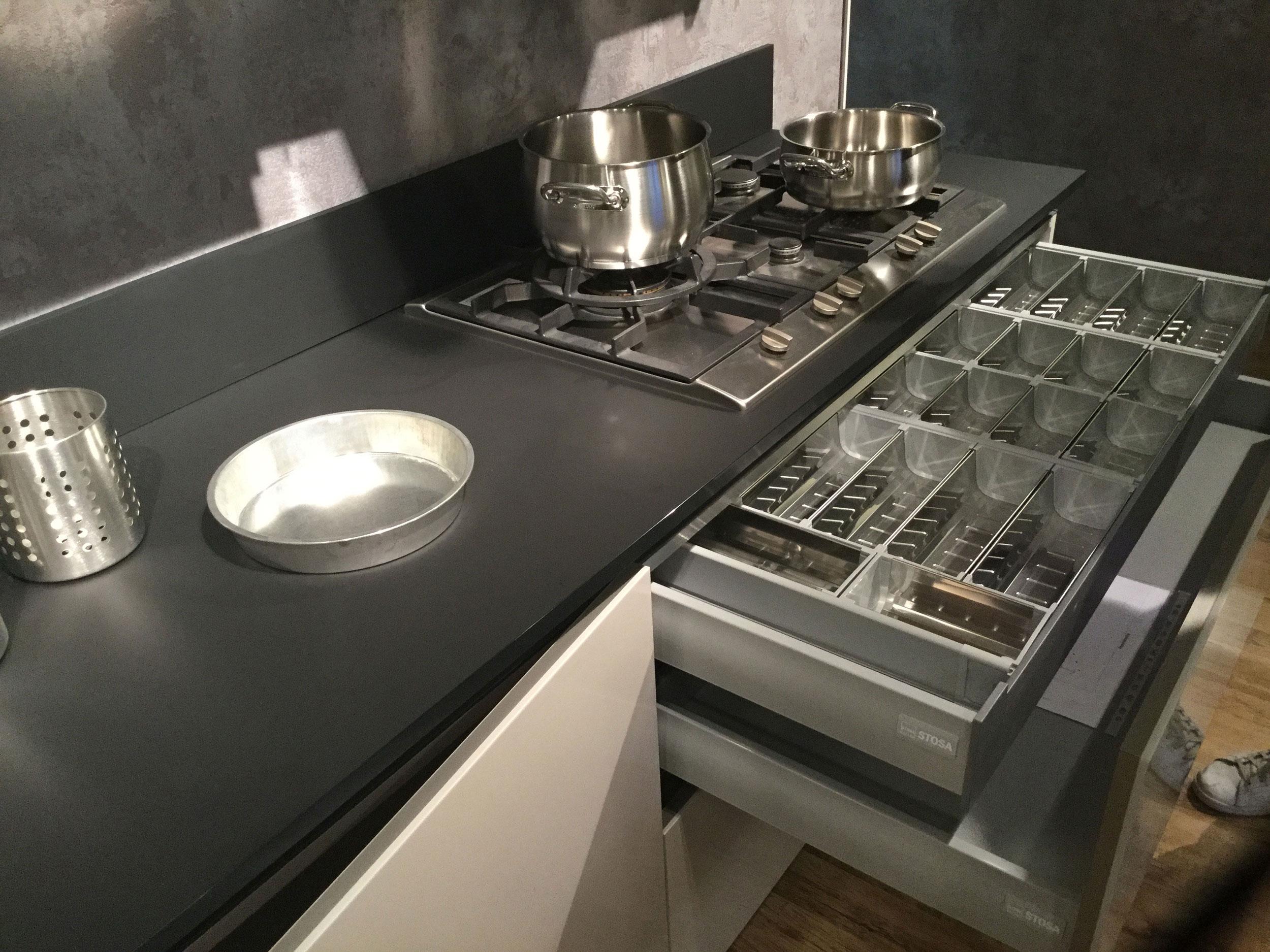 Cucina stosa cucine cucina stosa allegra eclettica for Piano cottura cucina