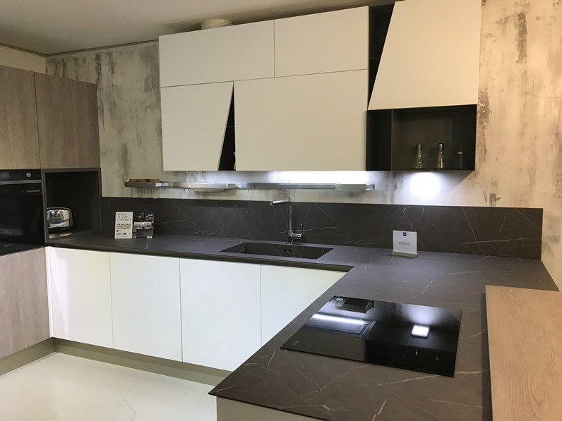 Cucina stosa cucine infinity diagonal offerta outlet - Outlet cucine stosa ...