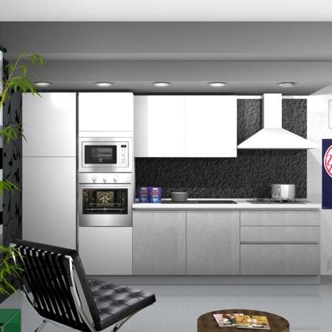 Cucina Stosa Cucine Infinity e infinity diagonal scontato del -55 ...