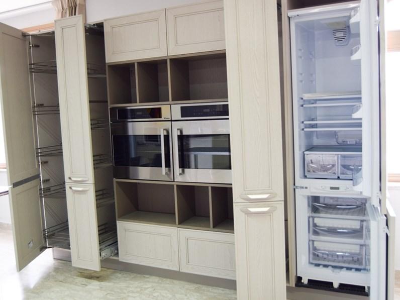 Cucina Stosa cucine moderna lineare altri colori in legno Maxim