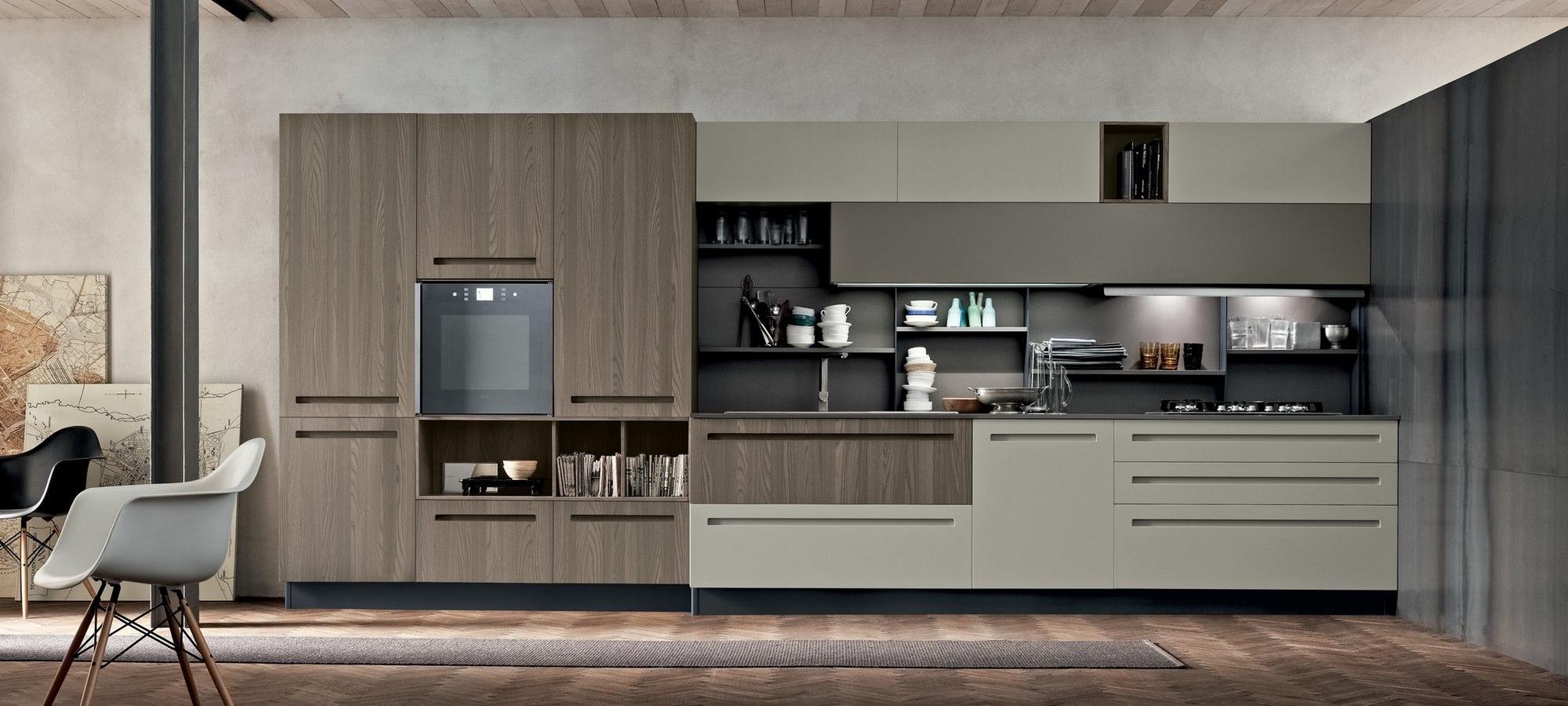 Composizione Cucine Moderne ~ Idea del Concetto di Interior Design ...