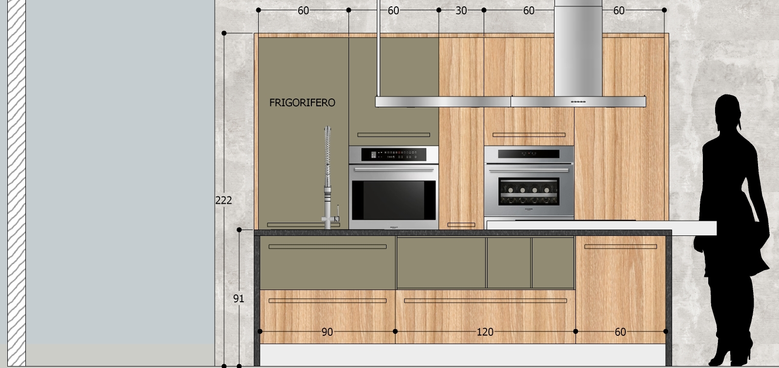 Progetti Cucine Con Isola. Progetti Cucine Con Isola With Progetti ...