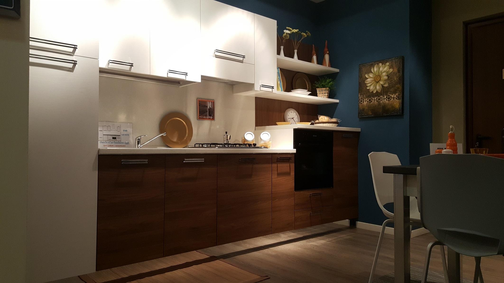 Cucine On Line Prezzi. Interesting Cucina A Legna Betty Bianco With ...