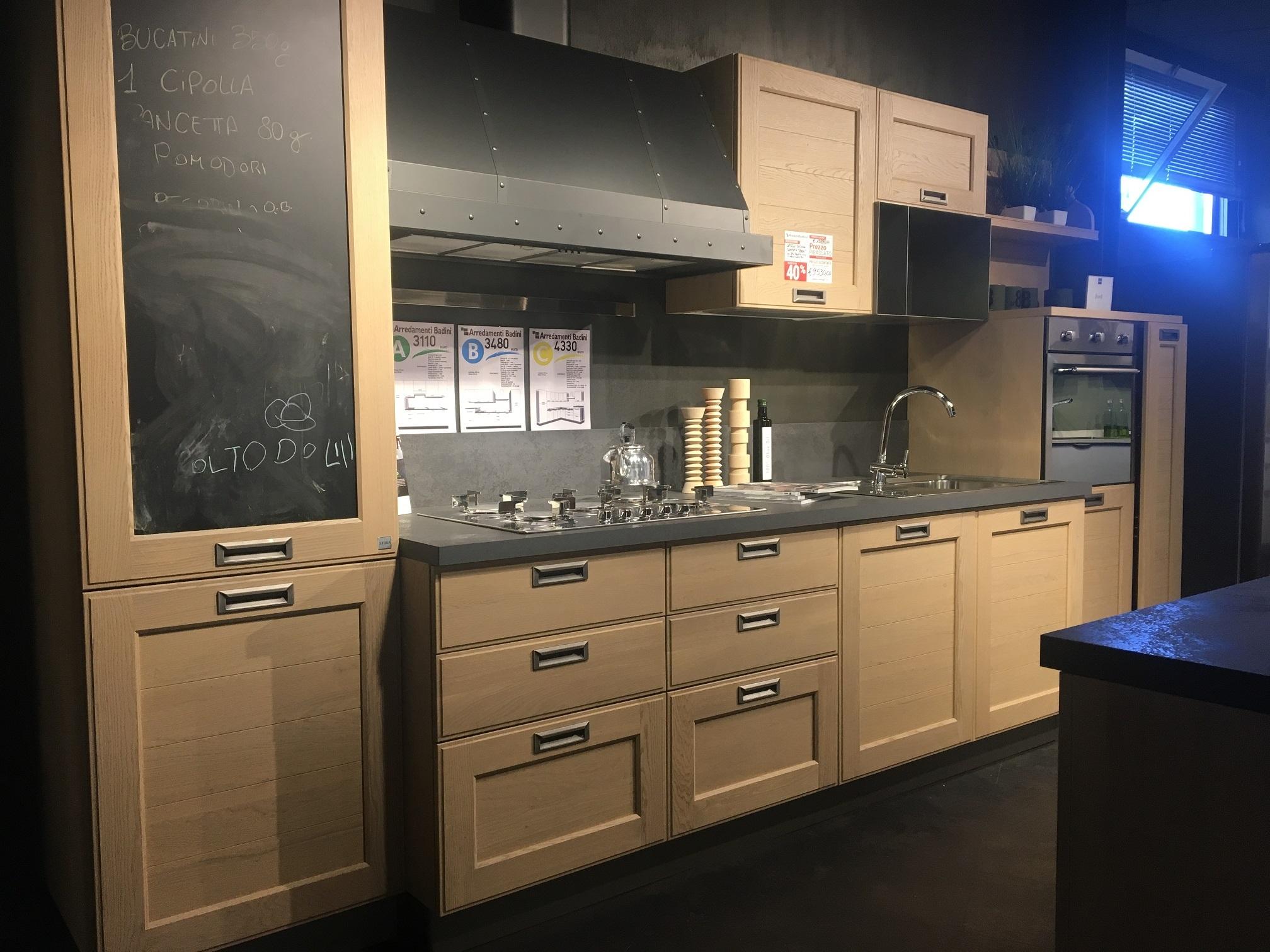 Cucina Stosa Modello York Scontata Del 50 Cucine A