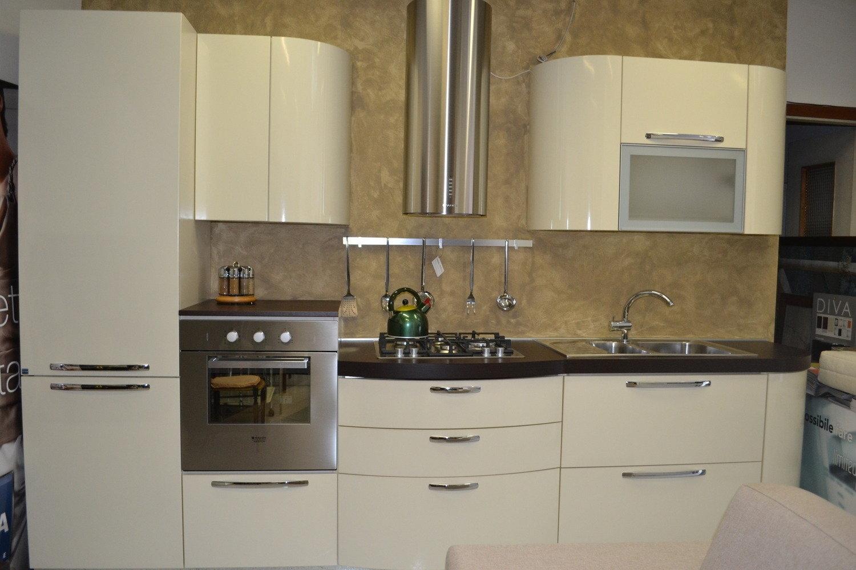 Cucina stosa laminato lucido cucine a prezzi scontati - Altezza cappa cucina ...