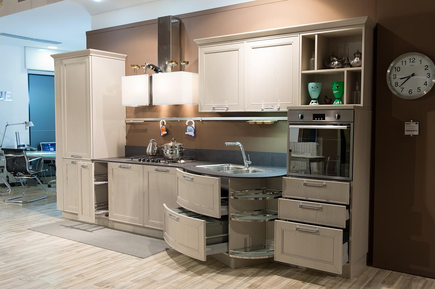 Stosa cucine cucina maxim classica legno cucine a prezzi for Prezzi cucine componibili