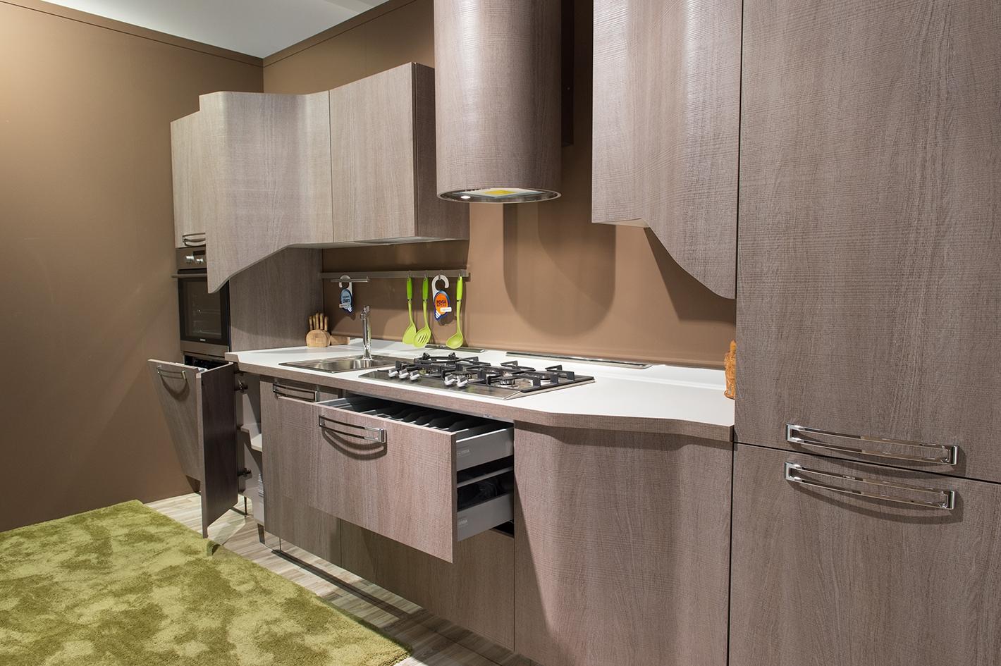 Cucina Stosa MILLY In Promozione 21451 Cucine A Prezzi Scontati #9E612D 1420 945 Cucine Veneta O Stosa