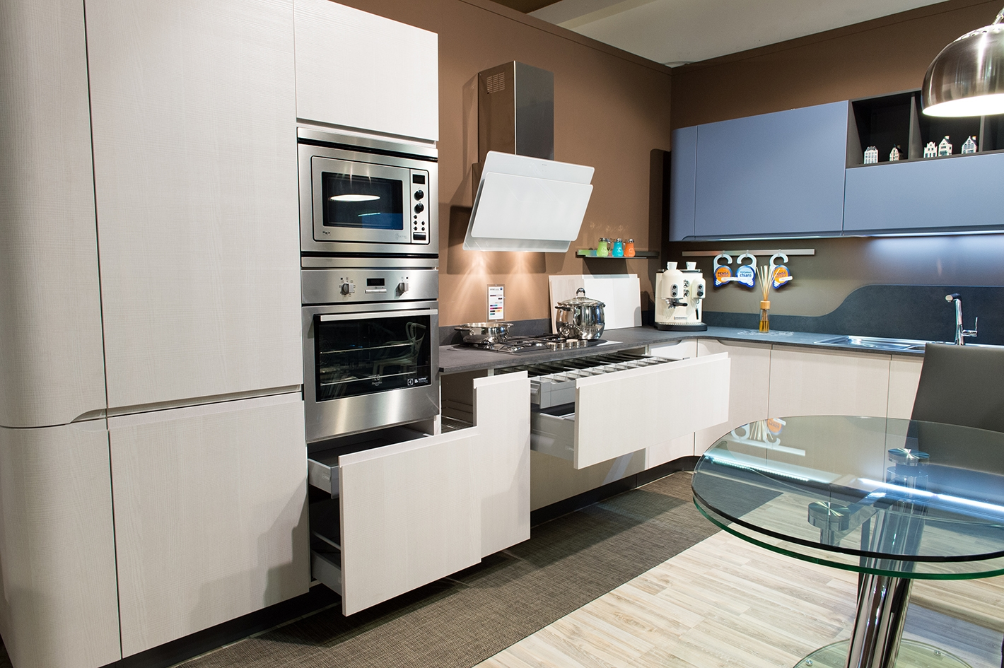 Cucina stosa mod bring completa di elettrodomestici for Cucine stosa