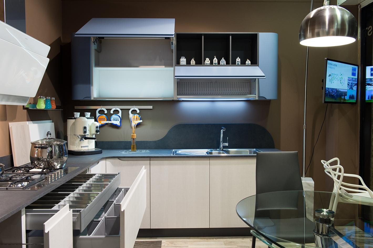 Cucina stosa mod bring completa di elettrodomestici - Cucine a ferro di cavallo ...