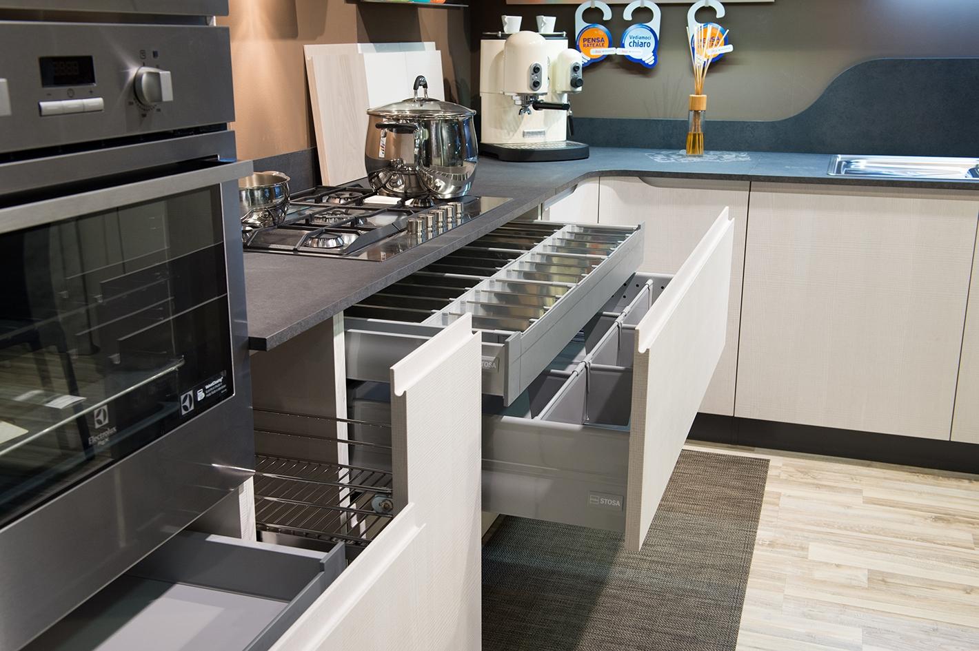 Cucina stosa mod bring cucine a prezzi scontati - Spessore top cucina ...