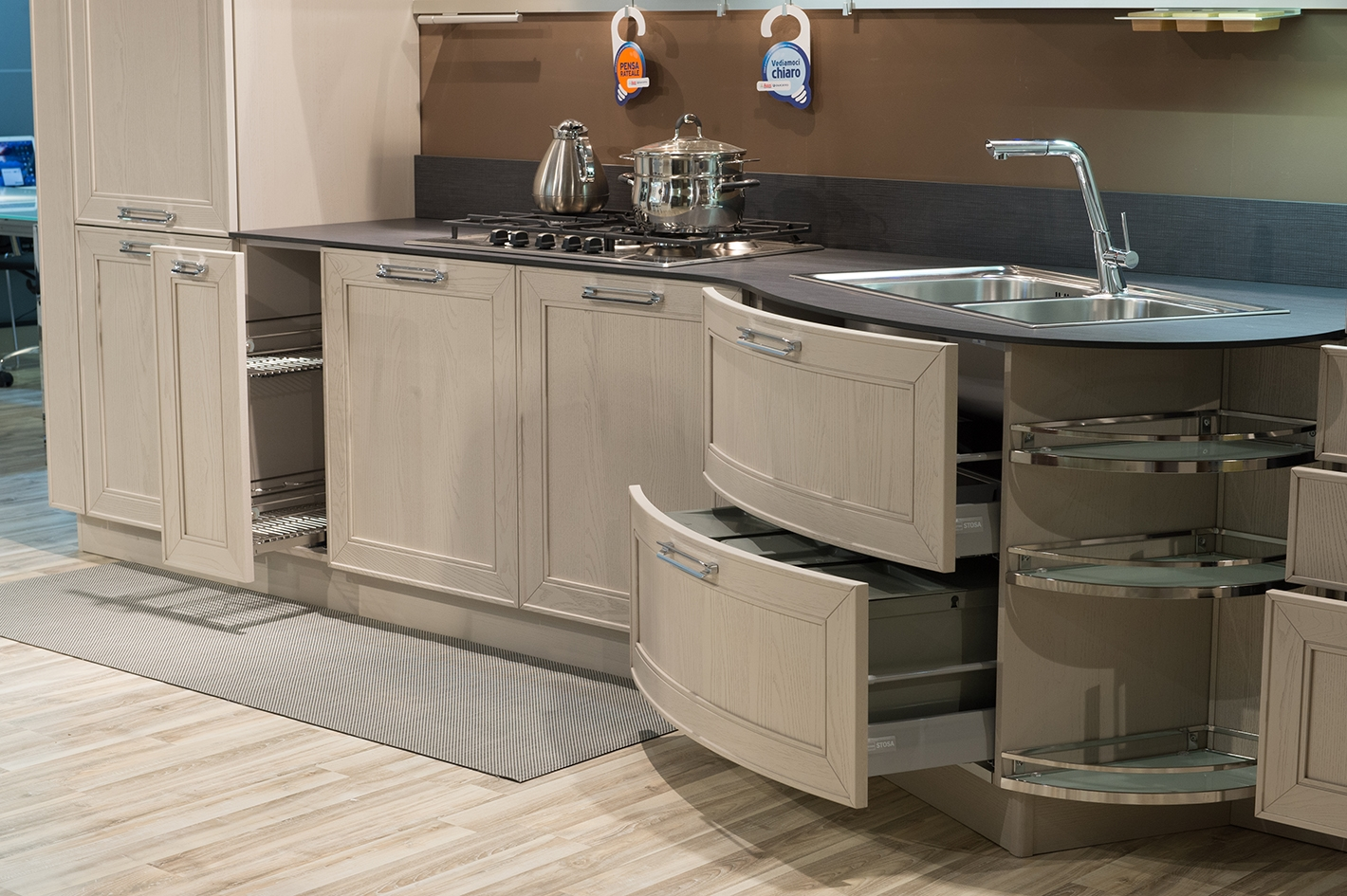 Cucina stosa mod maxim completa di elettrodomestici 20232 - Elettrodomestici cucina ...