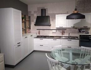 Cucina Stosa York con zona living e tavolo in offerta